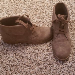 Cute brown ankle boots